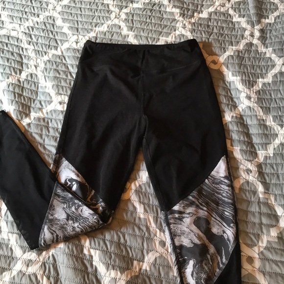 SO Pants - High Rise Mesh Leggings